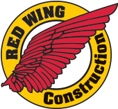 Red Wing Construction Company Logo