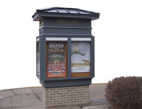 Sheldon Theater kiosk